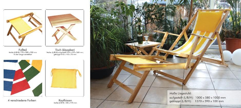 Komfort-Liegestuhl - Löffler Massivholzverarbeitungs-GmbH